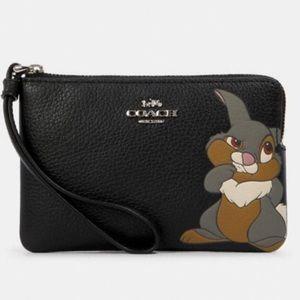 Coach x Disney Bambi wristlet